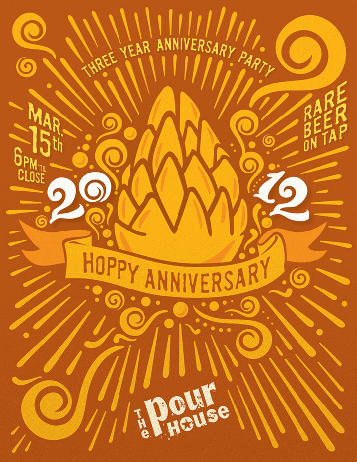 Pour House Anniversary party